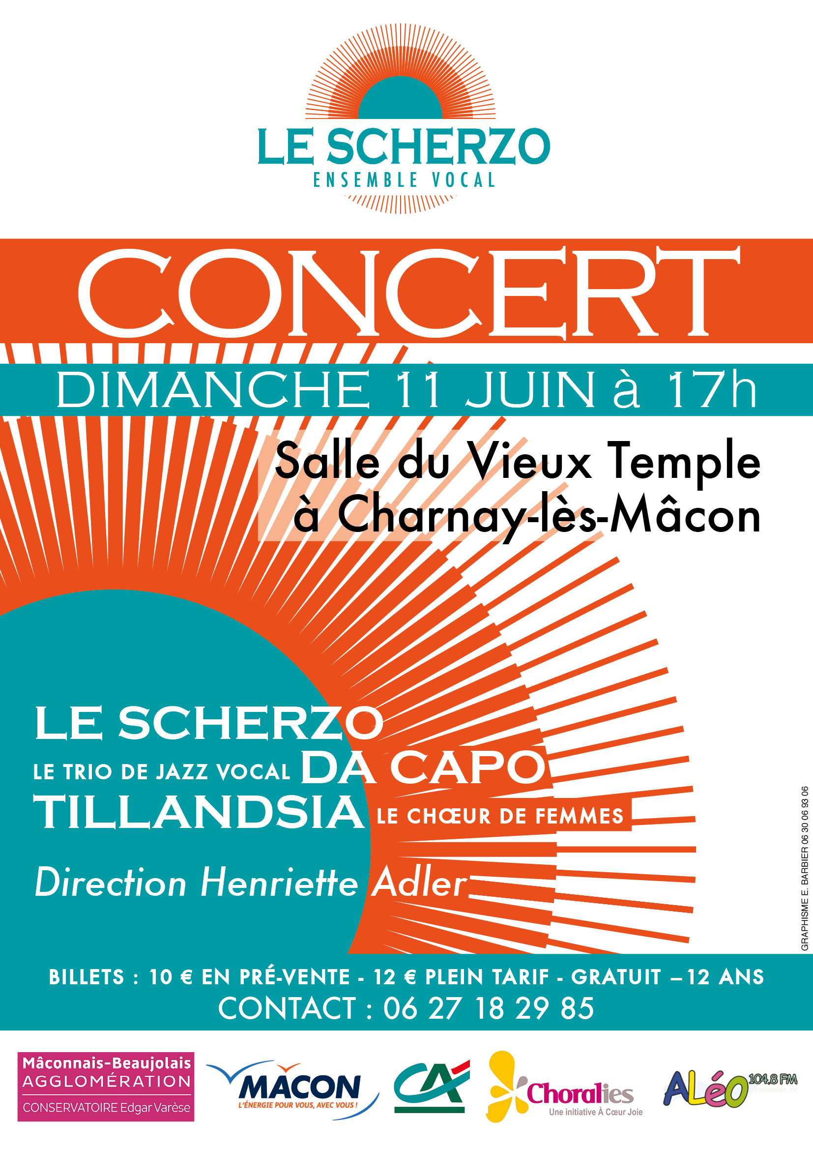 Concert du 11 Juin 2017 @ Salle du vieux Temple Charnay-lès-Mâcon | Charnay-lès-Mâcon | Bourgogne Franche-Comté | France